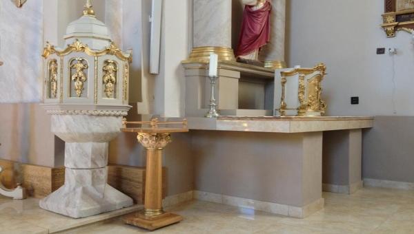 Vnitřní zateplení kostela